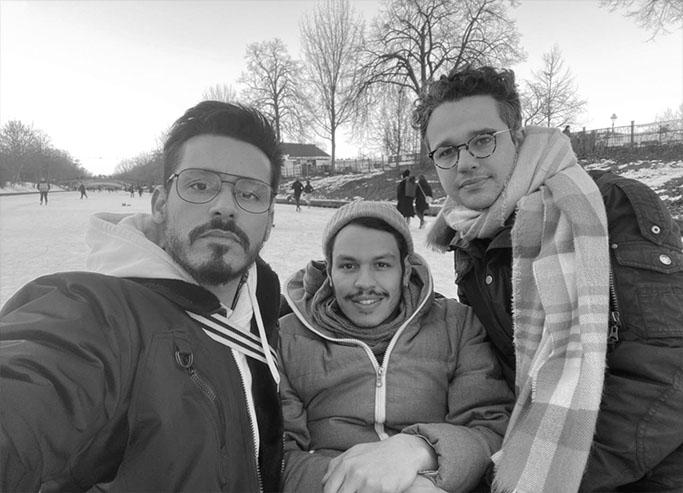 Leandro Goddinho, Paulo Menezes, Eduardo Mamede