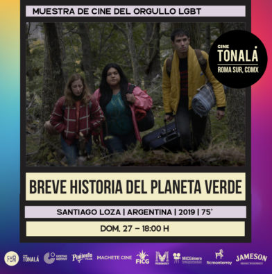BRIEF STORY FROM THE GREEN PLANET, Pride Week at the Mexico City Cine Tonalá